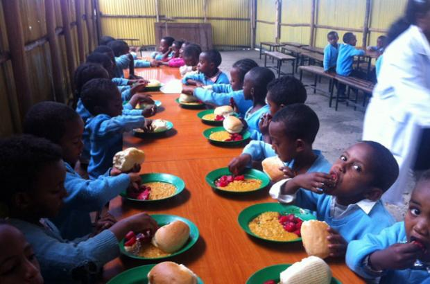 The U.S. Embassy provides Funding for School Canteen Program in Arba Minch (Press Release)