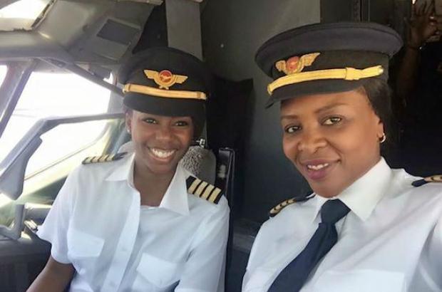 Air Zimbabwe Rewrote Ethiopian History in All Female Flight