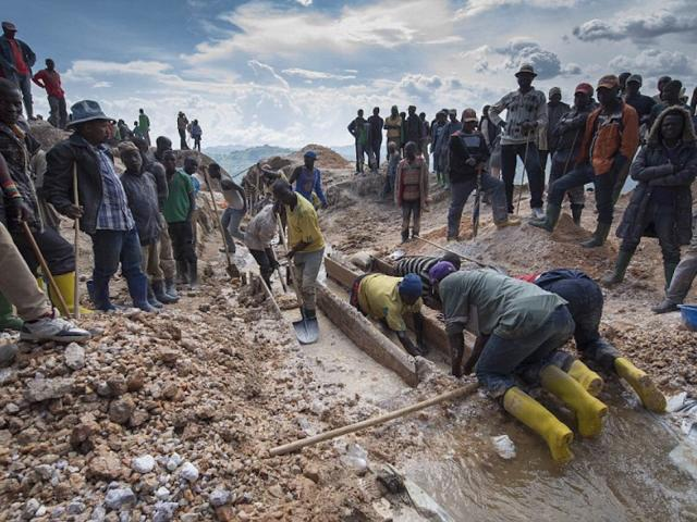 How miners in the heart of Africa toil in terrible c...