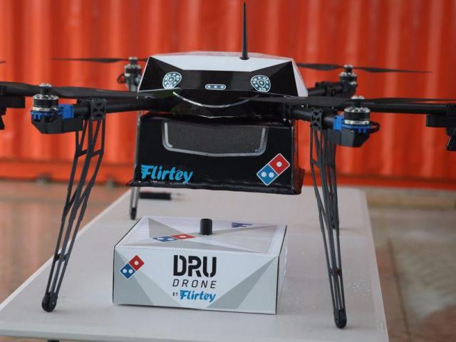Pizza Delivery by Drone on Trial in New Zealand