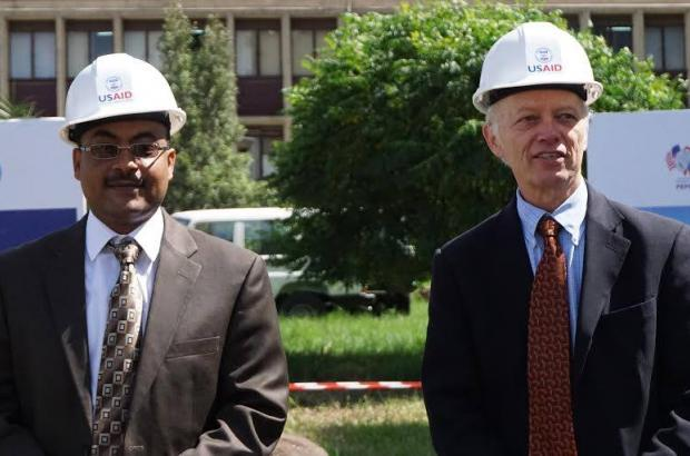 The U.S. and Ethiopian Governments Break Ground for a New Blood Service Center