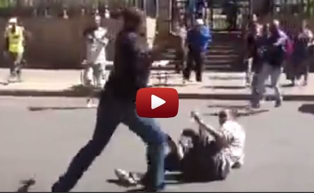 Taxi driver attack Ethiopian in downtown Johannesburg