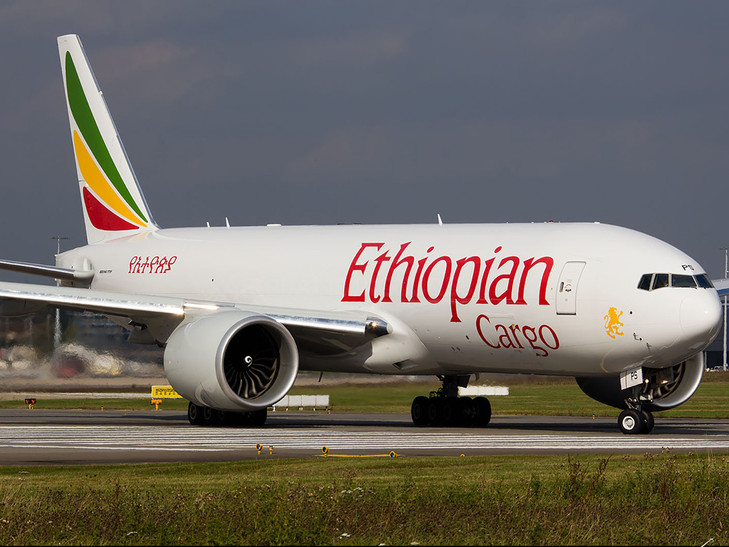 Ethiopian launches flights to Durban and adds fourth India freighter service