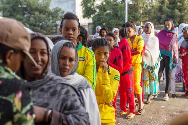 Blurring Ethiopian blues
