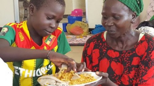 Rescued Child: Murle militia groups locked us in huts for the past four weeks