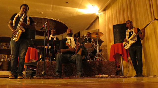 Ethiopia Jazz Beat Goes On