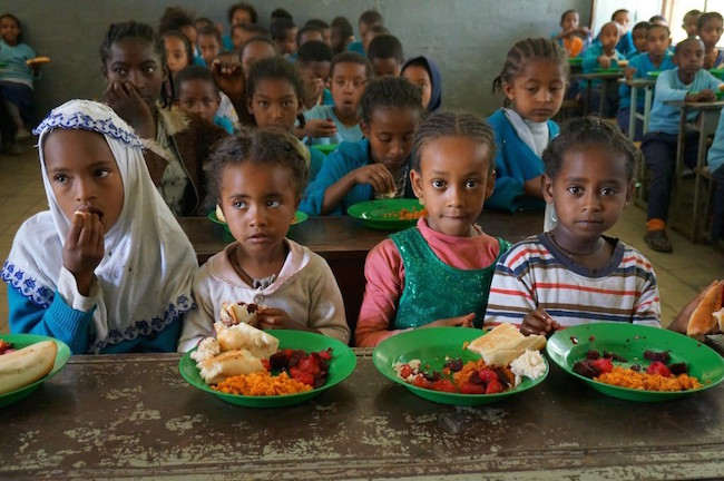 China to continue support for Ethiopian school feeding program