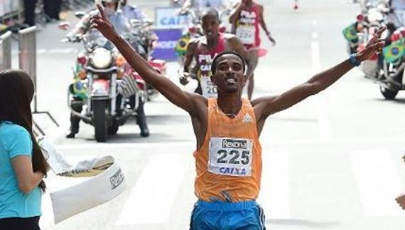 Ethiopians Admasu and Ayalew win Brazil road race