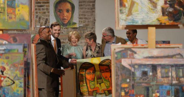 Ethiopian Art Exhibition Held in Ireland Dublin