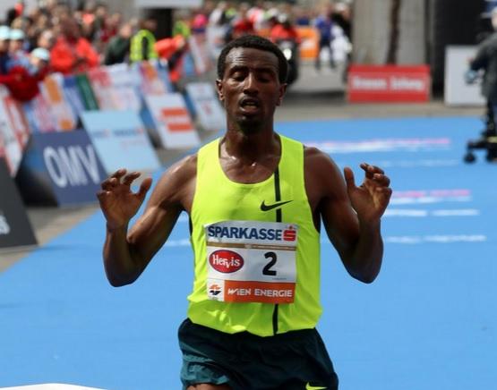 Ethiopia's Lemma wins Vienna City Marathon after solo run