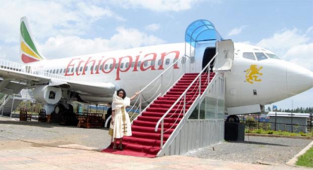 An Innovative Restaurant Made From an Aircraft