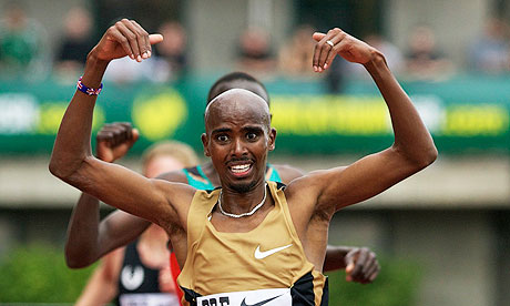 Mo Farah sets 2012 world 5000m best as he defeats Kenenisa Bekele