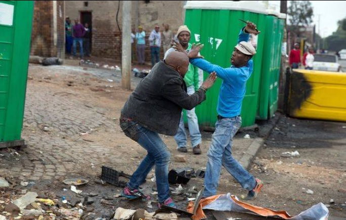 Suspects caught on camera killing Mozambican man in SA