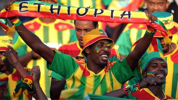 Ethiopia progress, South Africa knocked out