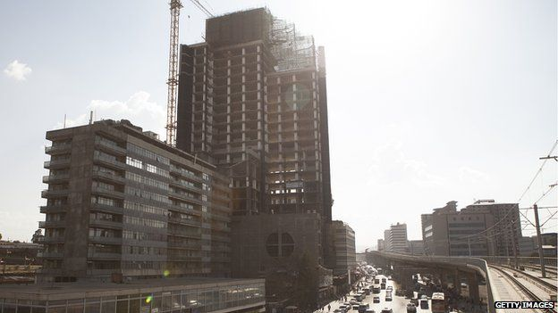 Africa blog: Is Ethiopia's building boom masking poverty?