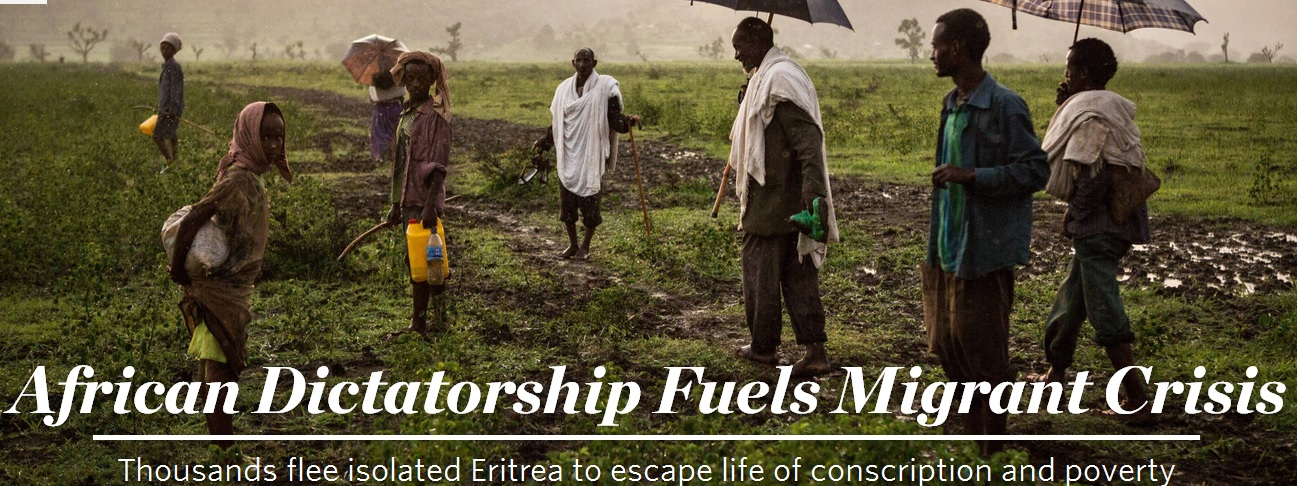 Thousands Leave Behind Eritrea, One of the World's Fastest-Emptying Nations