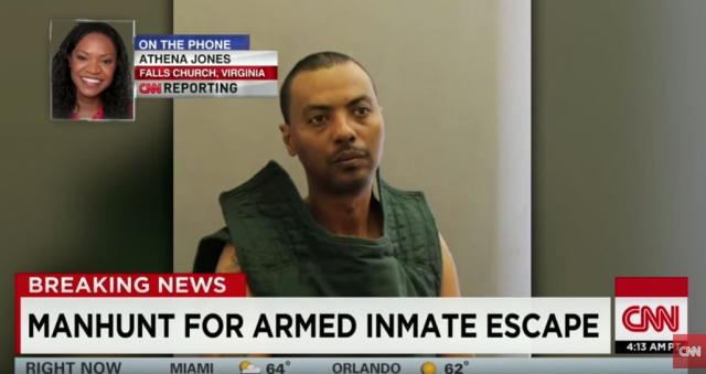 32-year sentence for bank robber whose escape sparked a manhunt