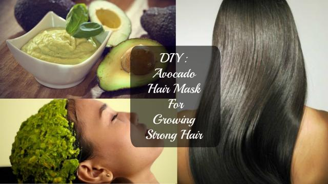 DIY: Avocado,Milk, Olive Oil, Honey & Lavender Oil hair mask for growing strong hair