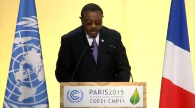 PM Hailemariam's speech at COP21 Paris 2015