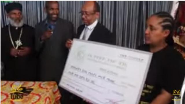 350,000Birr donation for Yewedekutn Ansu Humanitarian Center via Memihir Girma Wendimu