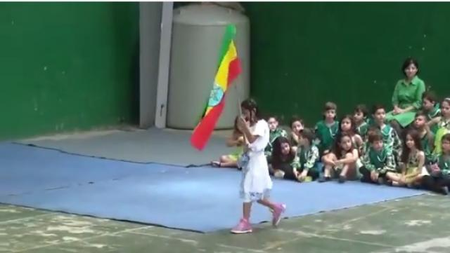 Lebanese students dancing 'Ethiopian Dance' on their Culture Day