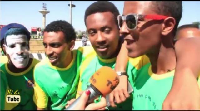 Funny and Amazing moments at the 2015 Ethiopian Great Run