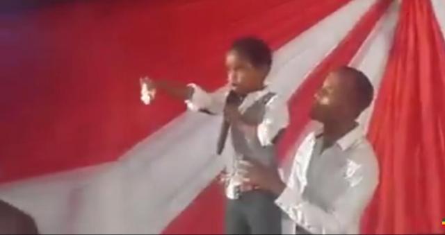 Ethiopian Kid Pastor