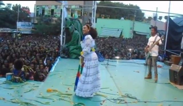 """Tirhas Tareke """"Ashenda"""" cultural celebration in Tigray"""