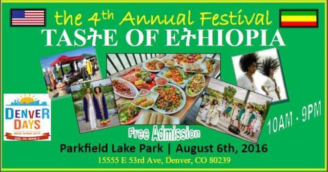 Promoting Ethiopia in Denver - Taste of Ethiopia