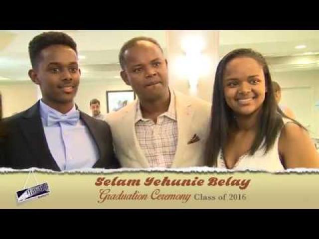 Selam Yehunie Belay high school Graduation ceremony