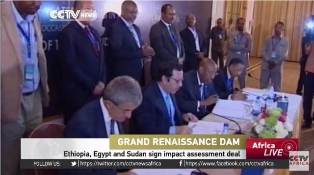 Ethiopia, Egypt and Sudan sign Grand dam impact assessment deal