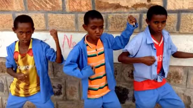 Watch: Ethiopian School Kids Finds Classic Rock Good for English Learning