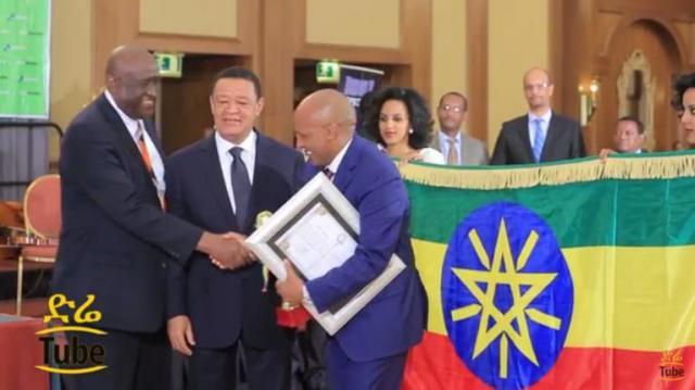Tekleberhan Ambaye Construction plc wins Ethiopia's Best Contractor Award
