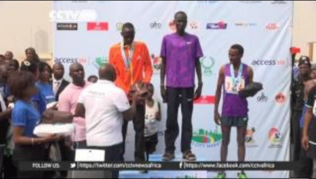 Kenyan and Ethiopian athletes dominate Lagos marathon