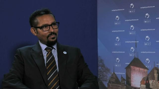 Dr. Arkebe's interview at the World Policy Conference