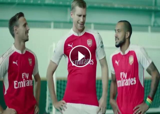 HD Video: Arsenal Players Doing Eskista - Dashen Beer Ads