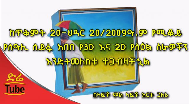 "Ethiopia: ""Think Outside The Box"" You are invited to a 3D & 2D art gallery at Lafto mall"