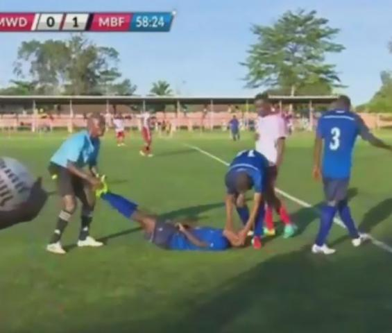 Footballer DEAD on the Pitch after scoring wonder goal
