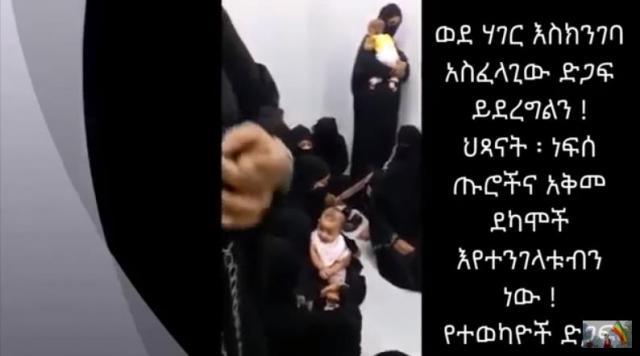 Ethiopians in Saudi Jail call for help