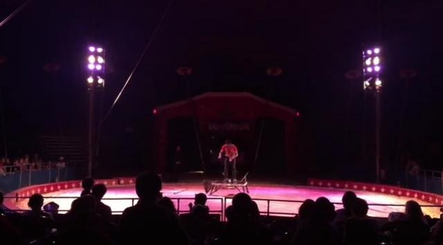 Bounce Juggling Act by Ethiopian Abreham Gebre at Kelly Miller Circus