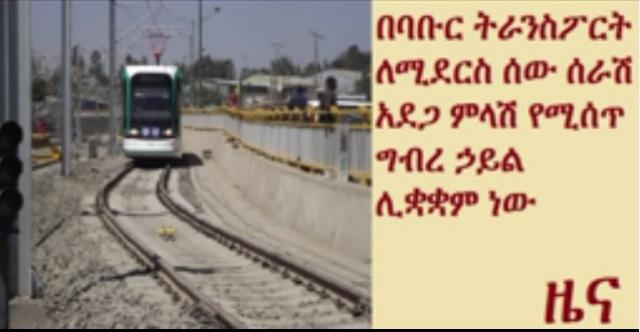 Team to be formed for Addis Ababa light railway transport accidents protection
