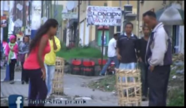 Funny Ethiopian Prank - Chewata TV Show