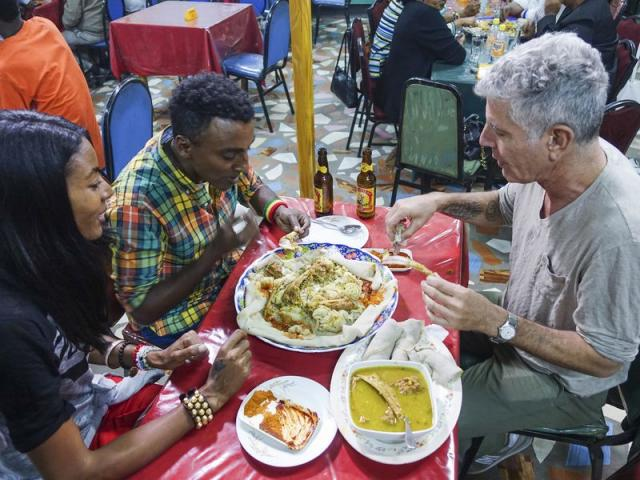 Anthony Bourdain 'Parts Unknown' Ethiopia: Just the One-Liners
