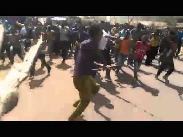 Protest around Haramaya University and Ambo Region