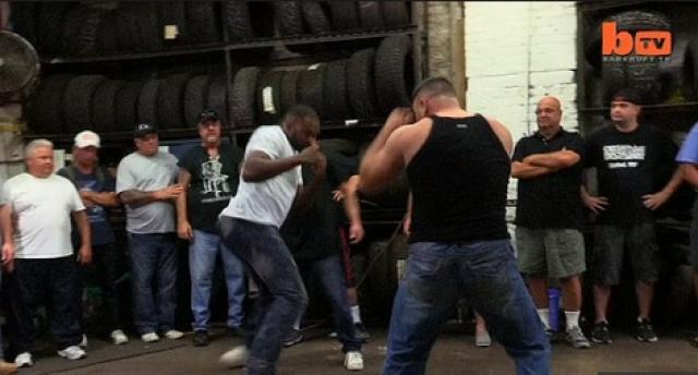 Underground bare-knuckle boxers duke it out for big money
