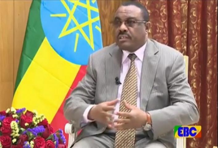 Interview with PM Hailemariam Desalegn on current issues