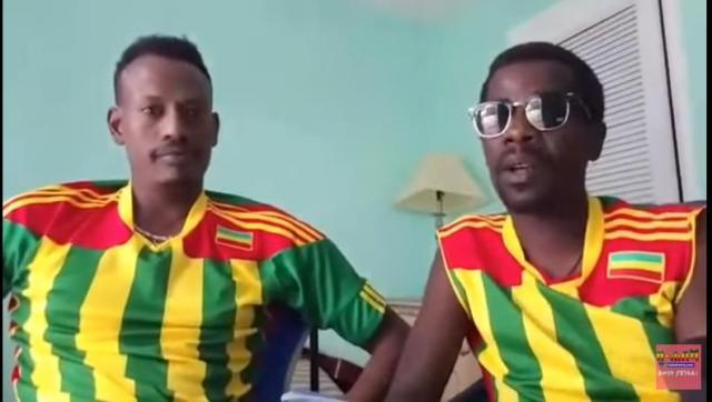 Comedian Tariku 80 and Bini Dana Message for Ethiopians