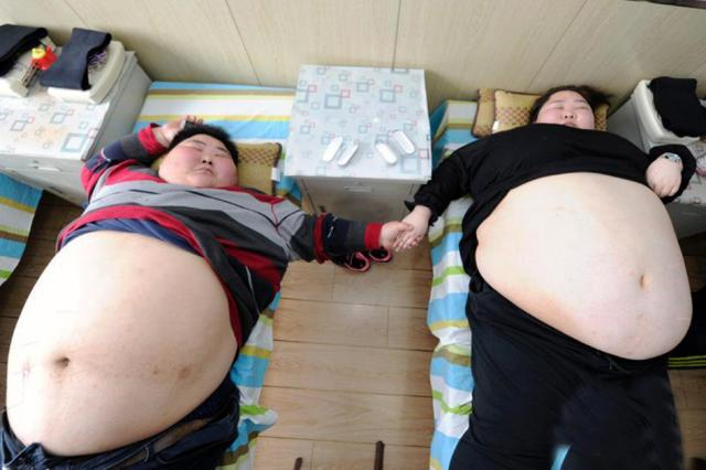 Married couple are so fat, they've never had sex