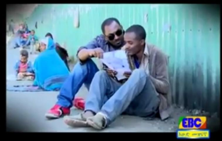 Zenk - Homeless man in Addis Ababa spent his days writing beautiful poems