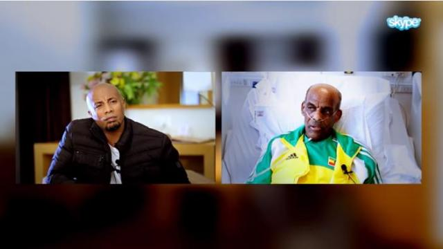 Interview with Athlete Miruts Yifter   He is critically ill in Canada